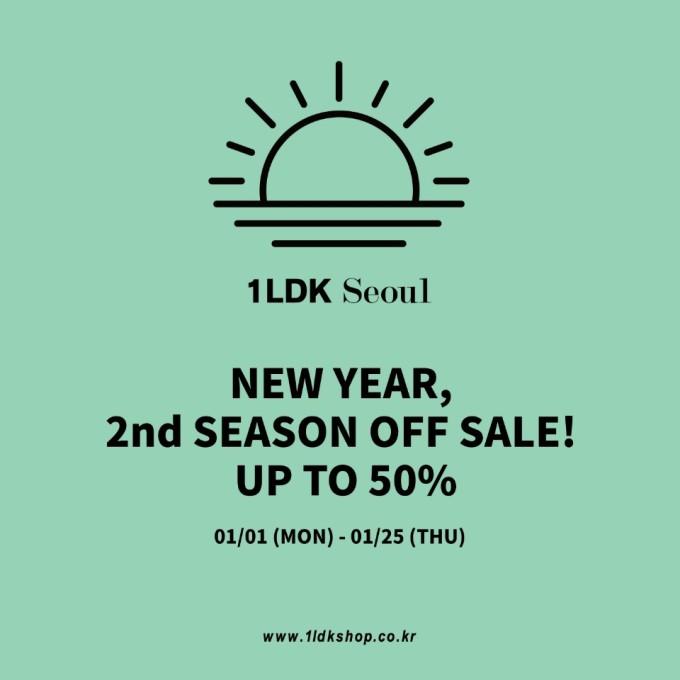 season off 2nd, 새해, new year sale, 1ldk, 원엘디케이, 1ldk seoul, 원엘디케이 서울 (@)