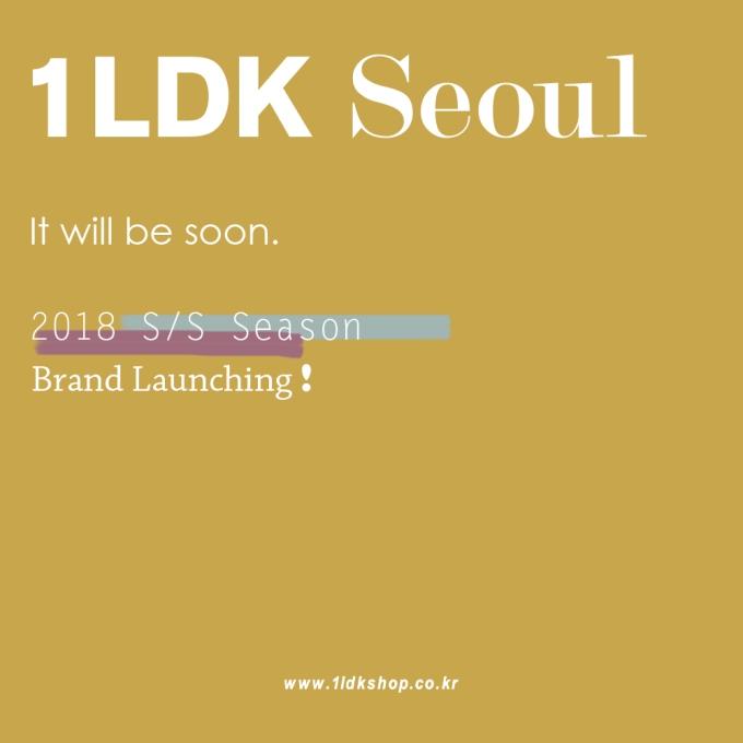 18SS 1LDK SEOUL BRAND 입고, 원엘디케이 서울